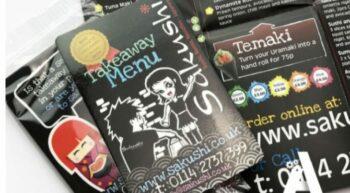 Print marketing for restaurants