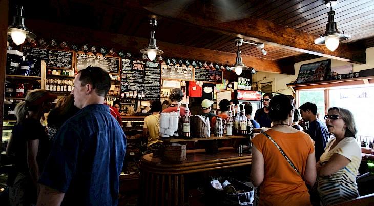 Coffee shop queues