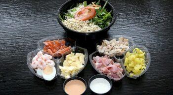 takeaway salad