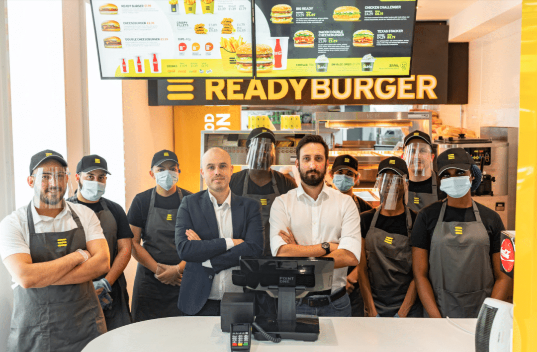 Ready Burger - Modern Hospiotality